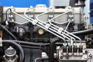 diesel engine detail